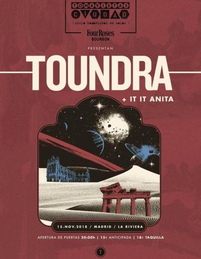 Toundra + It It Anita en Tomavistas Ciudad