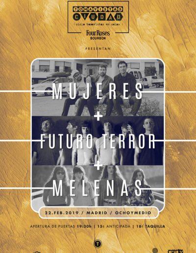 CARTEL_TOMAVISTAS_CIUDAD_MUJERES_FUTURO-TERROR_MELENAS