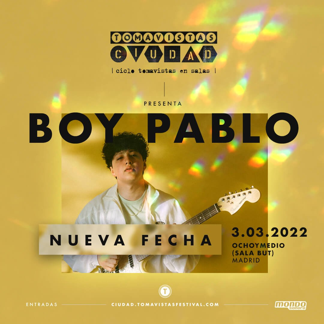 Concierto boy pablo tomavistas ciudad