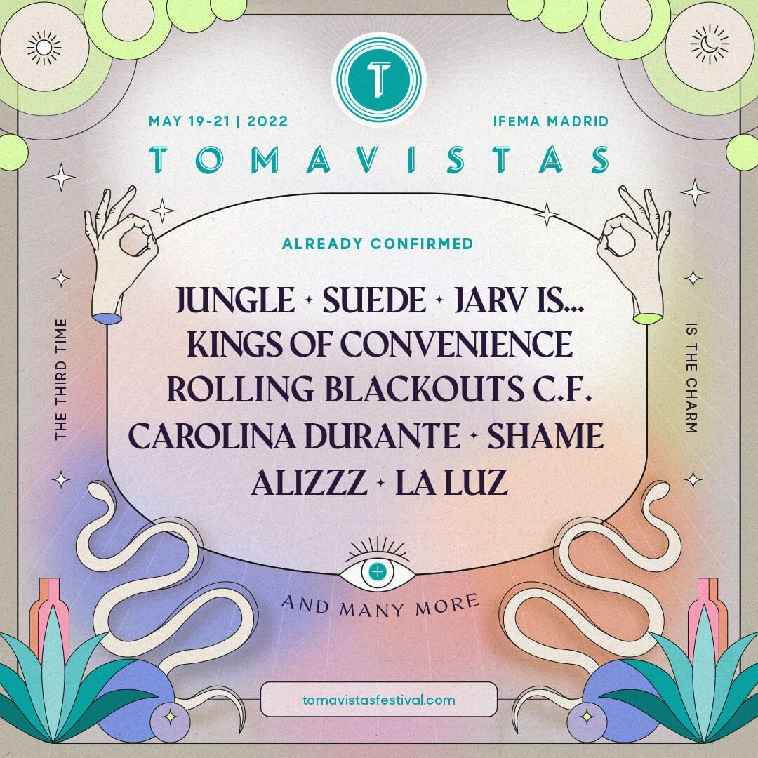 Tomavistas festival 2022 line up